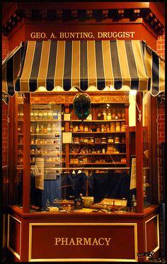 vintage pharmacy | Flickr - Photo Sharing!