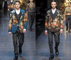 Dolce & Gabbana 2013-2014 Fall Winter Mens Runway Collection