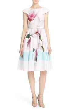 13a57ee062895 TED BAKER  Bromlie  Fit  amp  Flare Dress.  tedbaker  cloth