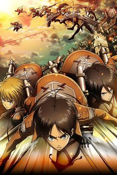 Attack on Titan wallpaper. I really like this one, too. :)