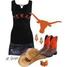 Texas Longhorns Outfit - Polyvore