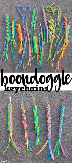 How to Make Boondoggle Keychains