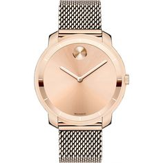 For every Movado Bold watch ($495) purchase, $50 is donated to the Breast Cancer Research Foundation.