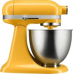 KitchenAid - Artisan Mini Tilt-Head Stand Mixer - Orange sorbet