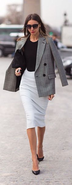 Black and White   Work Style.