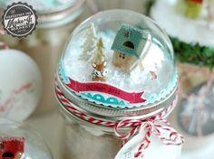 PTI - Make It Market Oct 2014 Tinsel & Tags jar toppers