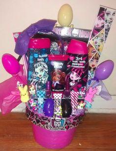 Monster High Easter  basket