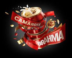 Carnaval Camarote Brahma by Eduardo Gomes, via Behance
