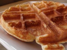 Food Pusher: Delicious Gluten-Free Waffles