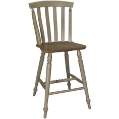 Shop for Fresco Taupe and Wood Transitional Slat Back 24 Inch Barstool. Get free shipping at Overstock.com - Your Online Furniture Outlet Store! Get 5% in rewards with Club O!