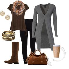 """""""It Feels Like Fall!"""" by suzanne-v-wittman on Polyvore"""