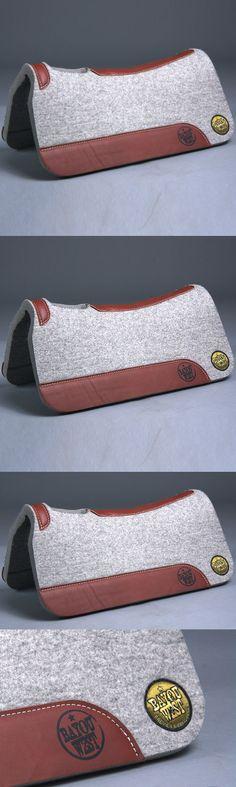 Saddle Pads 183377: 29 X 29 Bayou West 100% Wool Contoured Horse Saddle Pad 1 1 8 Thick Grey -> BUY IT NOW ONLY: $209.95 on eBay!