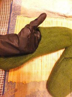 валяем тапочки-шлепки без задника, фото № 9
