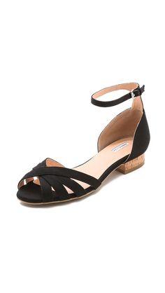Marais USA Cork Heel Sandals