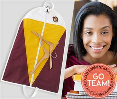 Collegiate Garment Bag: Fabric Depot | Sew4Home