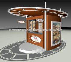 Kiosk muffins and guys on pinterest for Food bar manufacturers