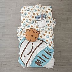 """Another super cute bedding set by Land of Nod! My kids are too """"grown up"""" for this...but it is too cute!"""