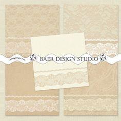 Digital Wedding Invitation, Lace Digital Paper, Digital Paper Vintage, Burlap and Lace Digital Paper, Jute Spitze Hintergrund, #13050B