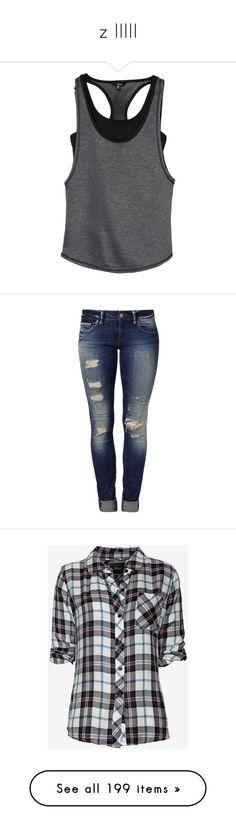 """z IIIII"" by jeffmatt-hardyboyz ❤ liked on Polyvore featuring activewear, activewear tops, tops, tanks, yoga activewear, hurley sportswear, hurley, jeans, pants and bottoms"