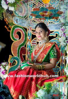 5 Bridal doli palki Designs - Awesome | FashionWorldHub.com