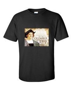 """Columbus Day Color Pencil"" short sleeve t-shirt"