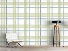 Design #Tapete Fliesenjunge Grün