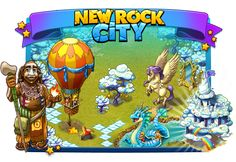 New Rock City: Dreamer's Day Create Yourself, Create Your Own, Paradise City, Prehistoric, The Dreamers, Rock, Day, Stone, Prehistory