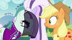 Countess Coloratura Angry With Applejack!