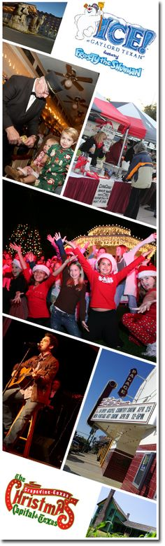 There's a chill in the air and the #holiday season is fast approaching in #GrapevineTX. Don't miss the Carol of Lights, November 24, where Grapevine Mayor William D. Tate will flip the switch to transform Grapevine into the Christmas Capital of Texas®. ICE! at the Gaylord Texan Resort & Convention Center and Snowland at Great Wolf Lodge both begin this month, and there's also live music and classic films at the Palace Theatre all month long. #events