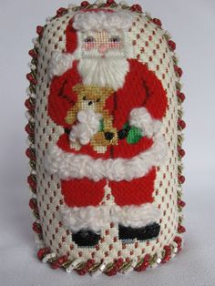 A Collection of Designs canvas #ACOD 2025 - Traditional Santa, 5.5x3 inch, 18 mesh