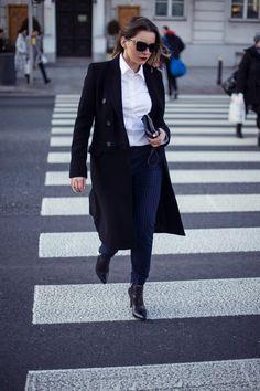 Idealny miejski look na co dzień według Agnes w botkach PM www.primamoda.com.pl/kolekcja-damska/botki/eleganckie-botki-na-szpilce-13154.html#prettyPhoto