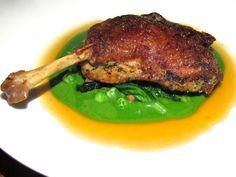 LA Restaurant Republique's duck confit