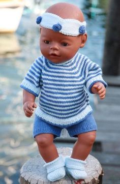 Baby Knitting Patterns Boy Knitted doll clothes for the summerDos and Don'ts While Shopping Baby ClothesKnitting patterns for American Girl Doll 18 by StylinDollKnitzLittle Infants are the most amazing and loveable creatures in this whole wide world. Baby Born Clothes, Boy Doll Clothes, Knitting Dolls Clothes, American Doll Clothes, Crochet Doll Clothes, Doll Clothes Patterns, Clothing Patterns, Puppy Clothes, Baby Knitting Patterns