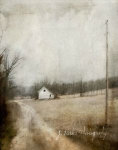 """The Atmospheric Watercolour Photography of Jamie Heiden Jamie Heiden, an artist from Wisconsin that """"…by using Polaroid film, adding watercolors on top of a photograph, or processing digital images in. Collages, Dark Tree, Rain Days, Picture Logo, Country Art, Country Life, Color Pencil Art, Art For Art Sake, Artistic Photography"""