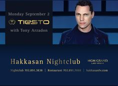 Hakkasan Las Vegas LDW | Moby | Tiestowww.surrealvegas.com For VIP Service, Bottles/Tables, Bungalows & cabanas  Contact Brian Pfeiffer 773.459.8133