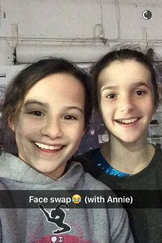 Annie and liv