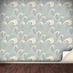 Removable wall paper!  Would be great for a pirate kid's room.