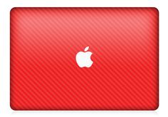 Red #CarbonFiber #MacBook by iCoverSkin https://icoverskin.com/Computers.html