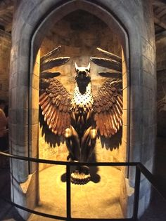 Again, I know it's not WDW but how cool is this? The entrance to Dumbledore's office.