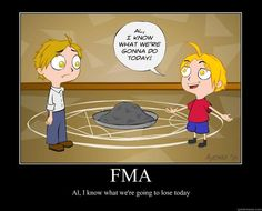 Fullmetal Alchemist meets Phineas and Ferb