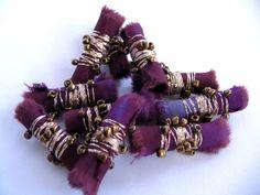 Fabric beads simple yet fabulous