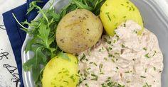 Pellkartoffeln mit Thunfischquark, Kartoffeln, schnelles Essen, Feierabendküche, Thunfisch, Weight Watchers