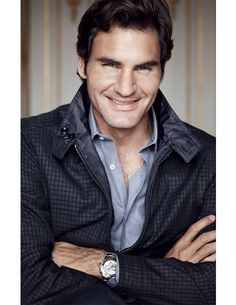 Our October Cover: Tennis Great Roger Federer. Town & Country