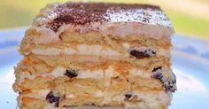 Вкусный торт с черносливом без выпечки.