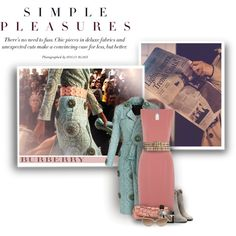 Soft Autumn by spicemarket on Polyvore featuring Burberry