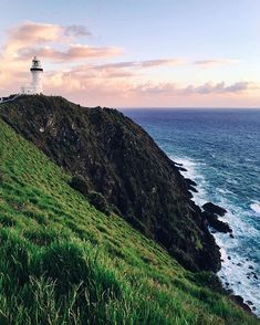Sunrise from Byron Bay Lighthouse. I still can't believe this is my first time in this beautiful part of my country. If anyone has any recommendations for myself or readers, please let me know x ☁️