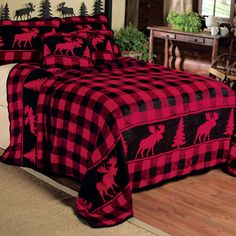 Rustic Moose Creek Bedding