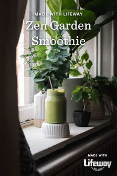 Filled with nutritious superfoods, this recipe was created to nourish the inner ecosystem. As you place each ingredient in your blender, reflect on how far you've come and set intentions for how you plan to blossom during this season of growth. Cream Soda, Ice Cream, Farmers Cheese, Vitamin K, Healthy Food Choices, Food Allergies, Superfoods, Smoothies, Zen