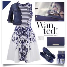 WANTED ! by menina-ana on Polyvore featuring Karen Millen, maurices, Brahmin and Three Hands
