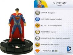 Heroclix Man of Steel Movie set Kryptonian Warrior #006 Gravity Feed fig w//card!